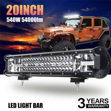 20'' 540W LED Work Light Bar Flood Spot Combo Offroad Driving Lamp Car Truck ice