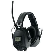 Casque Anti Bruit Protege 28dB Auditive avec Fonction Radio FM AM Stereo AUX