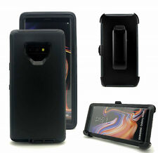 For Samsung Galaxy Note 9 Defender Case Cover w/ Belt Clip fits Otterbox Black