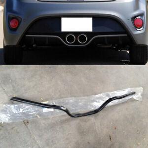 1Pcs For Hyundai Veloster 2011-2017 Car Rear Bumper Decorative Cover Trim Frame