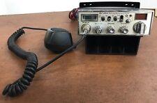Vintage Cobra 25 WX Nw St Sound Tracker 40 Channel Cb Radio