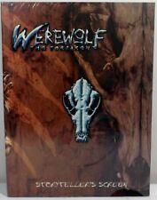 WHITE WOLF GAMES WEREWOLF THE FORSAKEN RPG STORYTELLER's SCREEN HARDCOVER SEALED