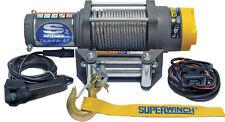 "Superwinch Terra 45 ATV Winch 1145220 4500 lbs 1/4""x55' Line Roller Fairlead NEW"