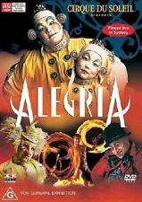 Cirque Du Soleil Presents Alegria (DVD, 2005) ALMOST LIKE NEW