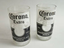 Corona Extra Beer Bottle Tumblers Drinking Glasses Set Of 2