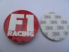 F1 RACING CAR BADGE EMBLEM 3M
