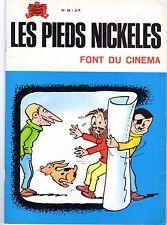 LES PIEDS NICKELES NUMERO 58 FONT DU CINEMA  FORTON 1975 RARE