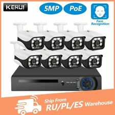 KERUI 8CH 5MP Wireless NVR POE Security Camera System Outdoor IR-CUT CCTV Video