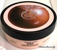 THE BODY SHOP Shea Butter Body Butter 6.75oz/200ml Moisture Cream NEW & FRESH