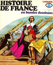 Histoire de France en bandes dessinées n°12 - Fr3 - Henri IV - 1976 -BD
