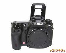 Pentax k-5 * DSLR * SEULEMENT 3718 Auslösungen * Top * Neuf dans sa boîte * WR * 16,3 MP * Vidéo