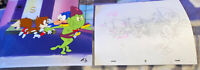 SEGA SONIC TAILS Original Animation Art Cel & Hand drawn Sketch DIC Seal Cert