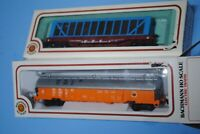 Bachmann HO Scale ATSF Santa Fe 51' Pulpwood and B & LE Coil Car