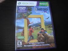 Microsoft Xbox 360 Brand new Nat Geo America the Wild factory sealed