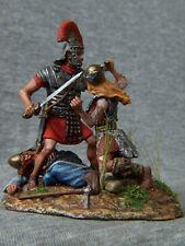 Attack the Roman legionaries 54 mm. Elite tin soldiers St. Petersburg