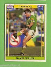 1993 RUGBY LEAGUE CARD #150  DAVID FURNER, CANBERRA RAIDERS
