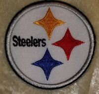 """Pittsburgh Steelers  Sm. 2"""" Iron On Embroidered Patch ~USA Seller~FREE Ship"""