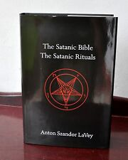 Satanic Bible & Rituals HC Anton Szandor LaVey Church of Satan RARE! Sold Out!