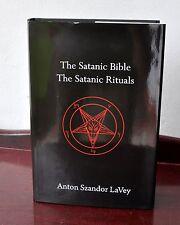 Satanic Bible & Rituals HC Anton Szandor LaVey Church of Satan RARE! Sold Out!