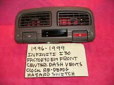 1996-1999 INFINITI I30 FACTORY OEM CENTER DASH VENT ASSEMBLY FREE SHIPPING!