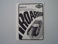 advertising Pubblicità 1967 FERRARI DINO COUPE' PININFARINA MERCURY