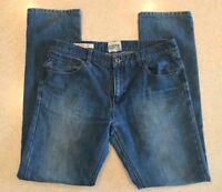 OWK Denim Regular Slim Straight Jeans Mens 34x34 EUR 44 Stonewashed Blue Modern