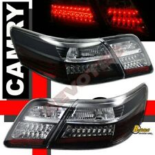 Black LED Tail Lights Lamps Plug & Play For 2007-2009 Toyota Camry CE LE SE