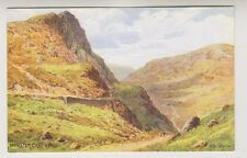 Cumbria postcard - Honister Crag & Pass - ARQ No. 1497