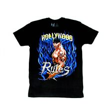 Officially Licensed Hulk Hogan Hollywood Rules T-Shirt
