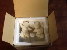 Nib Partylite Cherub Candle Followers - P0190