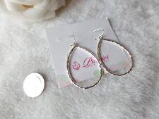 Premier Designs Jewelry JULIA Silver Fishhook Earrings  P025