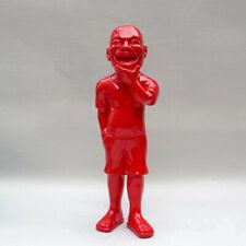Modern Art Sculpture Creative Abstract Yue Minjun Wei Wei Character Big Smile Re