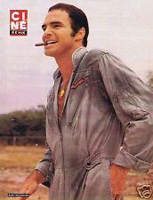 Coupure de presse Clipping 1976 Poster Burt Reynolds   26 x 35