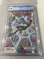 Spider-Verse 1 CGC 9.8 NM/MINT 2nd Print Variant Spider-Man Miles Morales Marvel