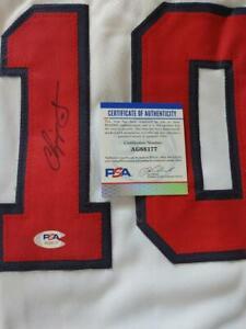 Chipper Jones Autograph Auto Atlanta Braves Jersey PSA/DNA COA