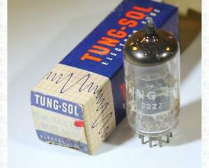 Tung Sol 4ES8 / XCC189 Vacuum Tube Made In Holland Tested NOS +Box