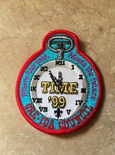 BSA WHERE THE PAST-MEETS THE FUTURE '99 ORE-IDA COUNCIL PATCH