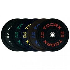 Toorx Disco Bumper Crumb 15 kg  Ø45 cm Foro ø50mm Boccola svasata in Acc. Inox