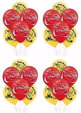 "24ct Disney Pixar Cars Mc Queen Birthday Latex Balloons Party Supplies 12"""