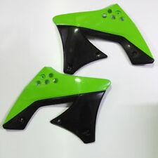 UFO MX Motocross Rad Scoops - KXF250 09-12 - Green/Black