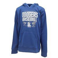 Los Angeles Dodgers MLB Genuine Kids Youth Size Athletic Hooded Sweatshirt New