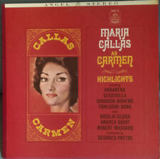 Bizet CARMEN ~MARIA CALLAS~Nicolai Gedda~Andréa Guiot~Georges Prêtre~FAST SHIP