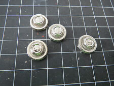 Pocher 1/8 Ferrari Testarossa Chrome Metal Wheel Center Caps