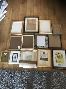 used picture frames job lot