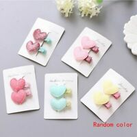 Hair Clips  Crown Flowers Safety Barrettes BB Clip Little Girls Gifts Kids
