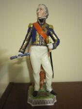 Carl Thieme, Dresden porcelain figurine - Soult, Napoleon Marshall