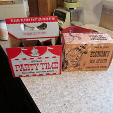 Detroit, Mich. Twin Pines with MILKY the Clown carrier & Ice Cream Container