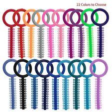 Dental Orthodontic Ligature Ties Elastic Rubber Bands Big O Ring Key 1040 Pcs
