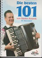Slavko Avsenik Die besten 101 Titel für Akkordeon
