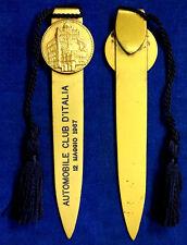 Tagliacarte Automobile Club d' Italia 12 Maggio 1967 #KP299